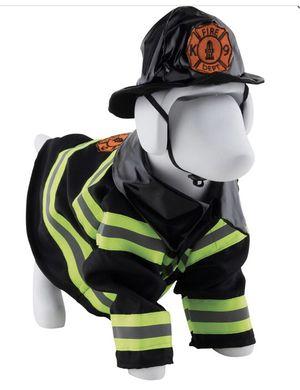 Dog fireman Halloween costume new size medium for Sale in Yorba Linda, CA