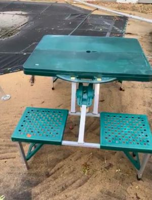 Picnic table, mirror, bed, chair for Sale in Springfield, VA