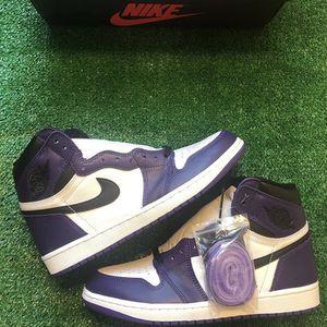 Jordan 1 Court Purples for Sale in Fairfax, VA