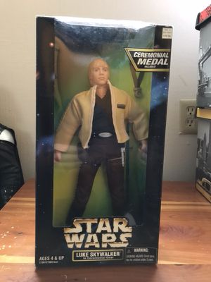 Star Wars 1997 Action Collection Luke Skywalker Ep. IV 12 Inch Action Figure for Sale in Bremerton, WA