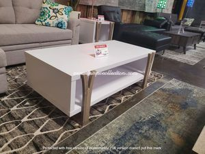 NEW, Coffee/Center Table, White and Dark Taupe for Sale in Westminster, CA
