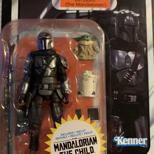 Star Wars Mandalorian + The Child Action Figure for Sale in Mount Rainier, MD