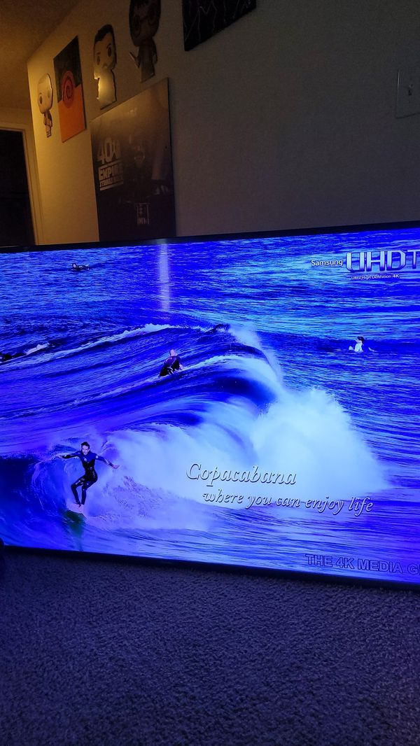 Samsung 2017 60 inch 4k HDR 120 Motion Rate LED TV