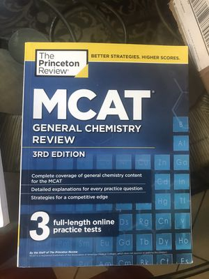 LIKE NEW- Complete Set of Princeton Review MCAT Books, 11 books total!!! HALF PRICE for Sale in Charlotte, NC