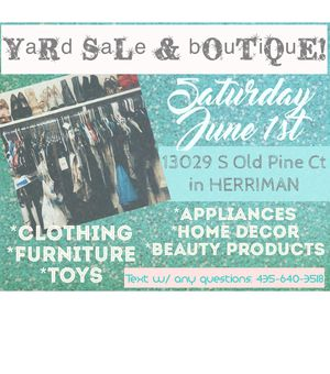 Clothes, shoes. Makeup, toys, furniture, appliances, home decor & more!! for Sale in Herriman, UT