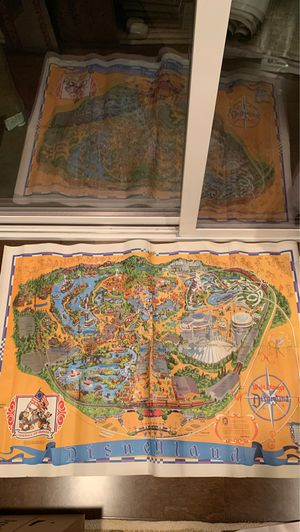 1975 Disneyland park map for Sale in Seattle, WA