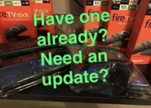 Swap & Update your old Amazon fire tv stick for Sale in Chicago, IL