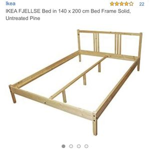 IKEA Full Bed - Frame and Mattress - Used for Sale in La Mesa, CA