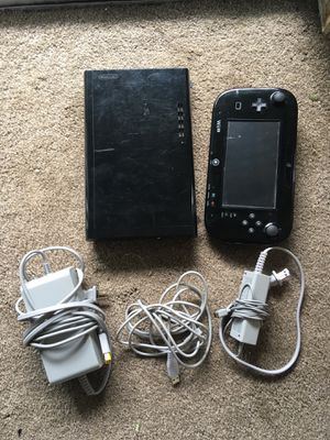 Nintendo Wii U (used - fair condition) for Sale in Lacey, WA