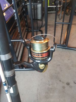 Okuma fishing rod and reel for Sale in Ceres, CA