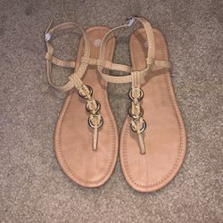 Tan Sandals Size 10 Wmns for Sale in Waco,  TX