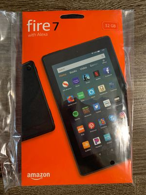 Amazon Fire 7 Tablet & Case for Sale in Kissimmee, FL