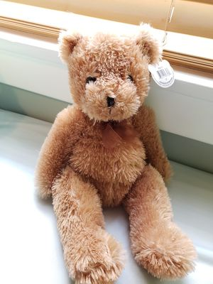 """10"""" Teddy bear by Cuddly cousins, great clean condition. Toy stuff animal for kids. Cute brown bear for Sale in Long Beach, CA"""