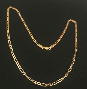 18K Gold Chain - Solid Link Chain for Sale in Miami, FL