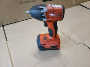 "Hilti SIW 18-A 18v 1/4"" Cordless Impact Wrench w Battery for Sale in Hudson, MA"