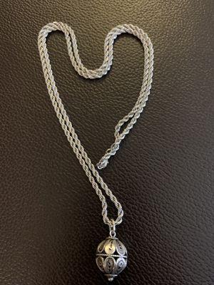 Silver Sphere Necklace for Sale in Alexandria, VA