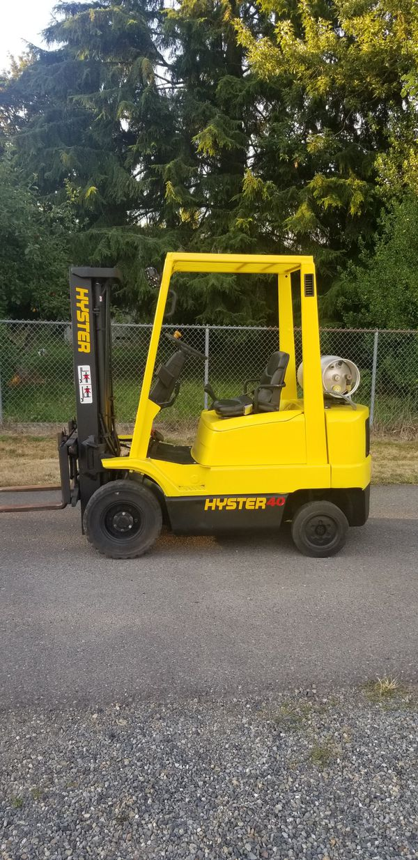 Hyster Forklift 40XMS