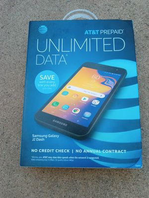 Cricket Samsung J2 Dash 16GB (New) AT&T Cricket for Sale in Glendale, AZ