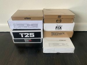 cize, insanity, insanity max, p90x, cize fitness dvds for Sale in Seattle, WA