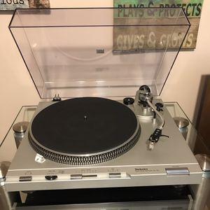 Vintage technics turntable records player for Sale in Des Plaines, IL