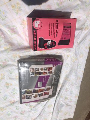 Hello kitty car cover / shoe organizer for Sale in Fresno, CA
