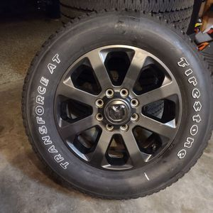 2021 Ram 3500 Night Edition Wheels And Tires for Sale in Bremerton, WA