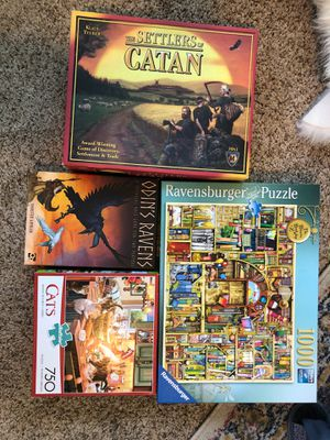 Games and Puzzles for Sale in Portland, OR