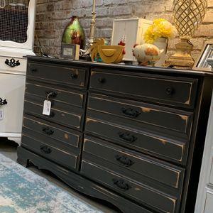 Refinished Black Farmhouse Dresser for Sale in Bonney Lake, WA
