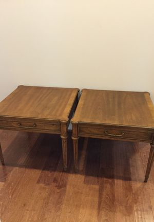 Vintage Heritage side/end tables for Sale in Lacey, WA