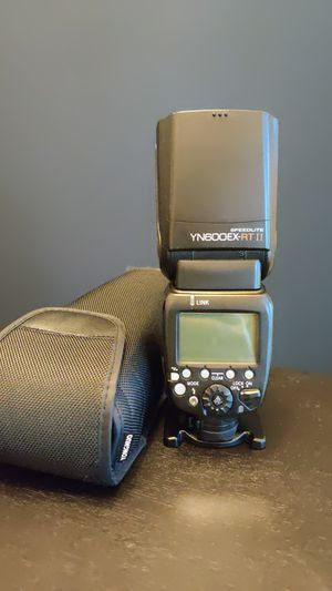 Yongnuo 600 EX-RT II Canon flash for Sale in Fort Worth, TX
