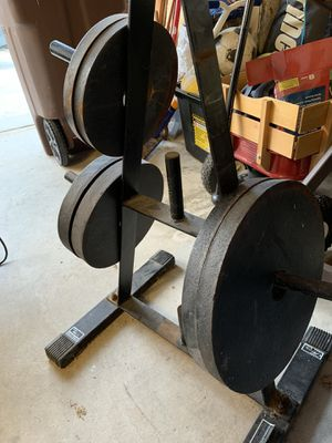 300# Olympic weight set for Sale in San Juan Capistrano, CA