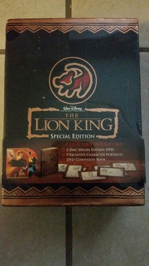 Lion King Special Edition DVD set for Sale in Philadelphia, PA