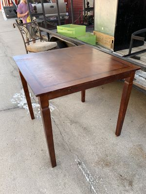 """40"""" card / dining room table for Sale in Highland, CA"""