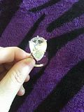 Big pear shape sterling silver ring size 5/6 never worn. for Sale in Silver Spring, MD