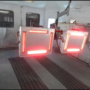 IRT Infrared Paint Curing System for Sale in Corning, CA