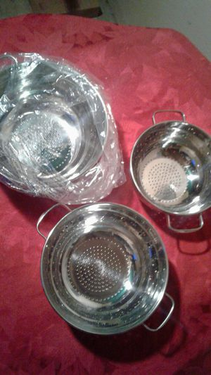 Kitchenware Strainer 3pcset for Sale in National City, CA