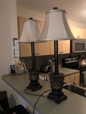 2 lamps for Sale in Fort Lauderdale, FL