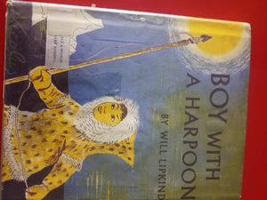 "VINTAGE CHILDREN'S BOOK - ""BOY WITH A HARPOON"" 1952 for Sale in Tacoma, WA"