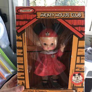 Vintage Mouseketeer Doll for Sale in Portland, OR