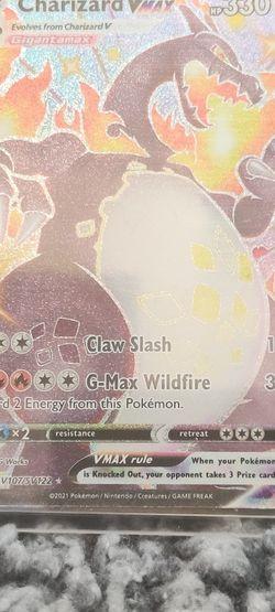 Charizard VMAX Ultra Rare Shining Fates Pokemon Card for Sale in Covington,  WA