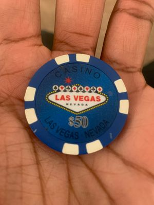 50$ casino chip LAS VEGAS - NEVADA for Sale in Washington, DC