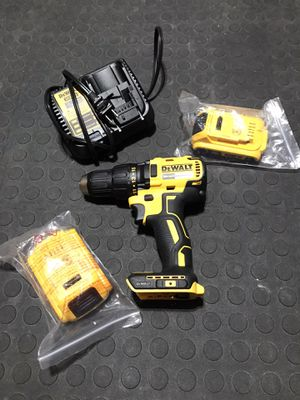 New Dewalt Drill, 2 batteries and charger for Sale in Orlando, FL
