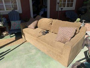 Futon with air mattress for Sale in Tempe, AZ