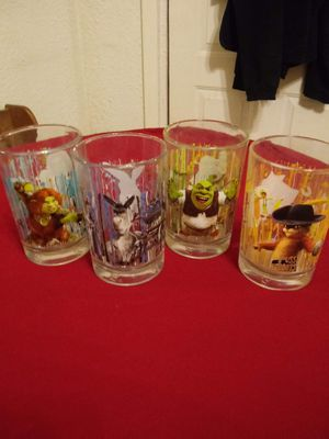 Disney's Shrek collectible glasses for Sale in St. Louis, MO