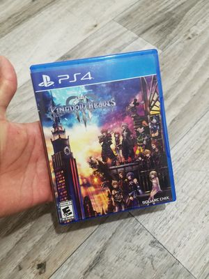 Ps4 Game Kingdom Hearts 3 for Sale in Tempe, AZ