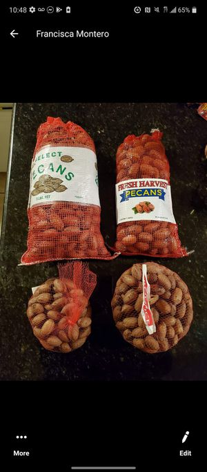 Pecans and honey for Sale in Fort Worth, TX