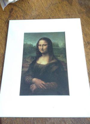 Mona Lisa print for Sale in Roseville, MN
