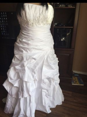 Wedding dress 16 for Sale in Irving, TX