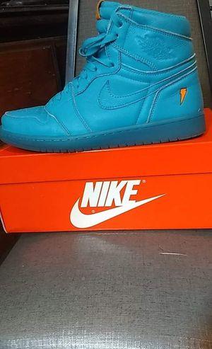 Jordan 1 high Nike x gatorade. Blue lagoon for Sale in West Seneca, NY