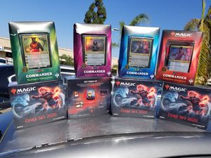 $25 Magic the Gathering Commander or bundles for Sale in Stockton, CA